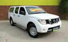 2012 Nissan Navara D40 S6 MY12 RX White 5 Speed Automatic 4D UTILITY Upper Ferntree Gully Knox Area Preview