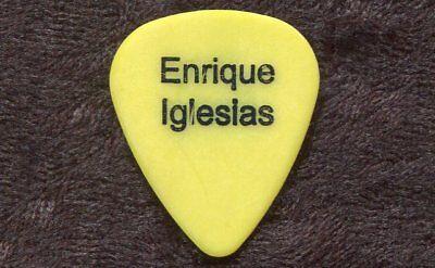 ENRIQUE IGLESIAS 2004 Seven World Tour Guitar Pick!!! TONY BRUNO custom stage