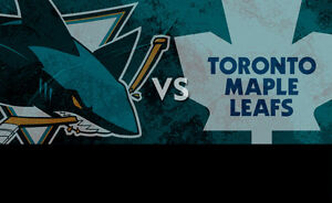 Maple Leafs vs San Jose Sharks....December 13th....4 Tickets!