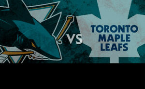 Toronto Maple Leafs vs San Jose Sharks!....2 Nice Seats!