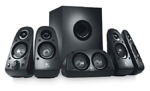 Logitech Z506 Surround Sound Speakers - RECERTIFIED 5.1 Speaker