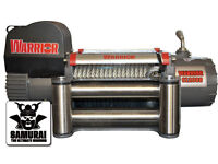 Warrior Samurai 12000 12v Electric Winch Steel Rope