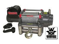 Warrior Samurai S17500 24V Electric Winch