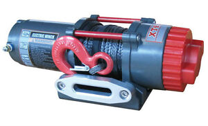 BRAND NEW WARRIOR 4500LB WINCH WITH SYNTHETIC ROPE