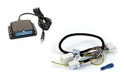 Nissan Auxiliary Input - Auxiliary audio input interface. Add aux MP3 for 99+ Nissan factory stereo radio