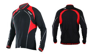 Sobike-Cycling-Fleece-Thermal-Long-Jersey-Winter-Jacket-Cruise-Red-Black