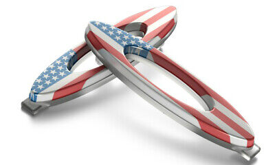 Oakley Frame Accessories Kit Turbine Rotor USA Flag Replacement Parts (Oakley Turbine Accessories)