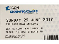Aegon Championships Tennis Final - Premium Seating Ticket