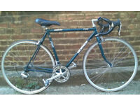 Road bike COBRA - COLUMBUS frame size 21inch - 14 speed CAMPAGNOLO MIRAGE SET serviced WARRANTY