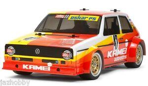 Tamiya 47308 1/12 EP RC Car M05 Chassis Kit VW Golf MK1 GTI Gr.2 Rally w/ESC