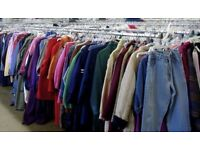 Second Hand Used Designer & Branded Clothing Mix Bulk Grade A - 100 KG - UK LIMITED SUPPLY