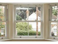 NEW UPVC Double Glazed Vertical Sliding Sash Window - 1060MM x 1080MM
