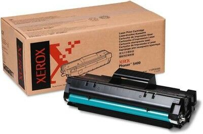 (GENUINE ORIGINAL XEROX Phaser 5400 Toner Laser Print Cartridge 113R00495 New)