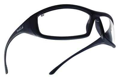 Bolle Safety 40062 Solis Safety Glasses With Clear Anti-fog Scratch-resistant
