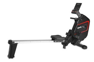 SPORTPLUS SP-MR-009-iE Rower Magnetic CardioFit, Ruderergometer, Rudergerät