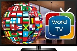 4000 + Live Channels. 1 Year IPTV subscription and box for $220