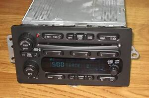 UNLOCKED GM CHEVY TAHOE SUBURBAN SILVERADO H2 6 DISC CHANGER CD RADIO Stereo