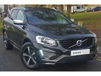 VOLVO XC60 D4 [190] R DESIGN Lux Nav 5dr Geartronic (black) 2017