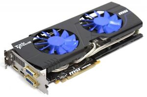 MSI Nvidia Geforce GTX 580 3GB Lightning Xtreme Edition