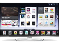 "LG Smart TV 47"" 3D 1080p HD 3D LED LCD Wifi Internet TV 47LM670T"