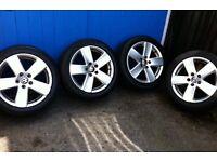 Vw Passat sport alloy wheels not caddy 306 Peugeot tdi bora golf leon