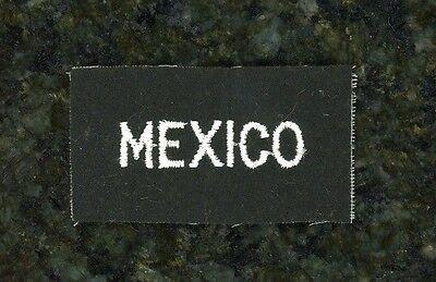 "WWII British Tab ""Mexico""."