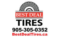 Quality Used and New All Season, Winter Tires! Free Tire Storage