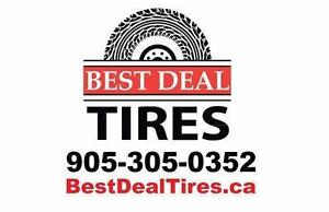 Best Deal Tires -  Save money, call us today! Quality Used and New tires, over 15,000 in stock! Largest in town!
