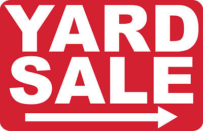 2 - Yard Sale --- - Signs- Ps-420
