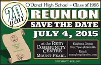 O'Donel High School Class of 1995 Reunion