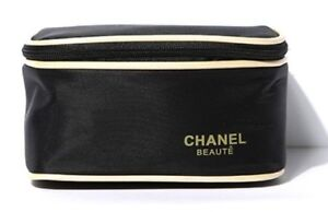 Chanel Beaute Line of Cosmetic Gift with Purchase GWP Makeup Bag Case NEW