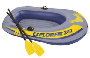 Ensemble de bateau Explorer 200 d'Intex
