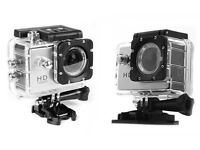 Water-resistant Action Camera 12MP 1080p HD
