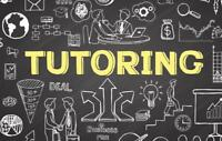 OFFERING TUTORING SERVICES: math, French, and computer science