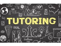 Tutoring for GCSE's, AS and A-Levels £25p/h