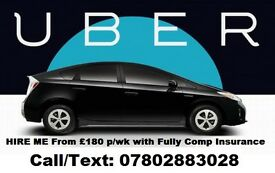 UBER Ready -PHV HIRE-TOYOTA PRIUS-FORD GALAXY - 07802883028 - ONLY 1 CAR LEFT *HURRY*