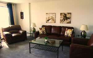FURNISHED APARTMENTS-Weekly Maid Service-