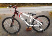 "Boys or Girls Mountain Bike Apollo Evade 14"" Aluminium Alloy Frame, 26"" wheels"