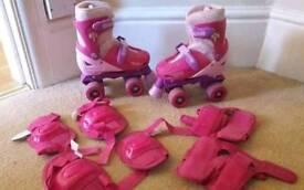 Disney princess adjustable skates