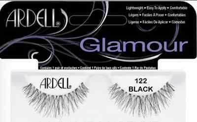 (Ardell Fashion Lashes #122 Eyelashes Black 4 pack)