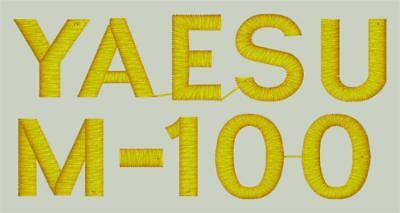 Yaesu M-100 Ham Radio Amateur Radio Dust Cover ()
