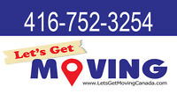 ☻(416)752-3254 ANY LOCATION MOVING COMPANY▪