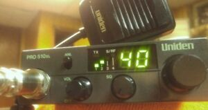 **READ AD**Uniden PRO 510XL CB Radio - 40.00 FIRM