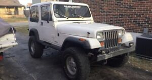 1989 Jeep YJ *LOWERED*