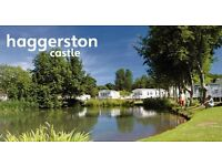 * Bring on Campaign*Bring your static holiday home to Haggerston castle holiday park,limited picthes