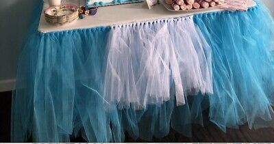 Alice In Wonderland Tutu Table Skirt  - Alice In Wonderland Tutu