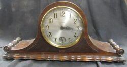 Vintage Bulova Westminster Electric Mantle Clock, Works, 22 x 10 1/2... Lot 31