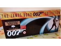 James Bond VHS Collection (most still shrinkwrapped)