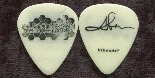 KELLY CLARKSON 2015 Piece Tour Guitar Pick ABEN EUBANKS custom concert stage #2
