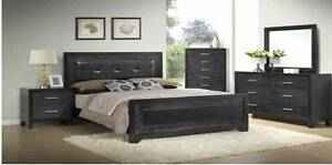 QUEEN 4 PCS SUITE-BLACK OR WHITE-STOCK CLEARENCE Perth Perth City Area Preview